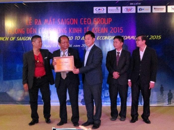 Lễ ra mắt Sài gòn CEO Group - ACIS 31