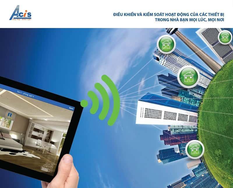 Công nghệ điều khiển ngôi nhà thông minh từ xa 7