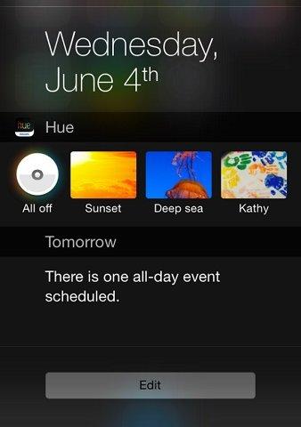 Ra mắt widget điều khiển nhà thông minh Apple HomeKit 6