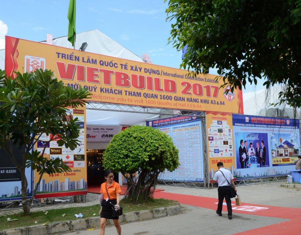 Nhà Thông Minh ACIS - Khởi Động VIETBUILD 2017 - NGÀY 1 (23/06) 2