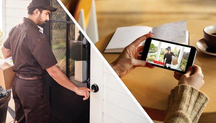Hệ thống chuông cửa có hình thông minh