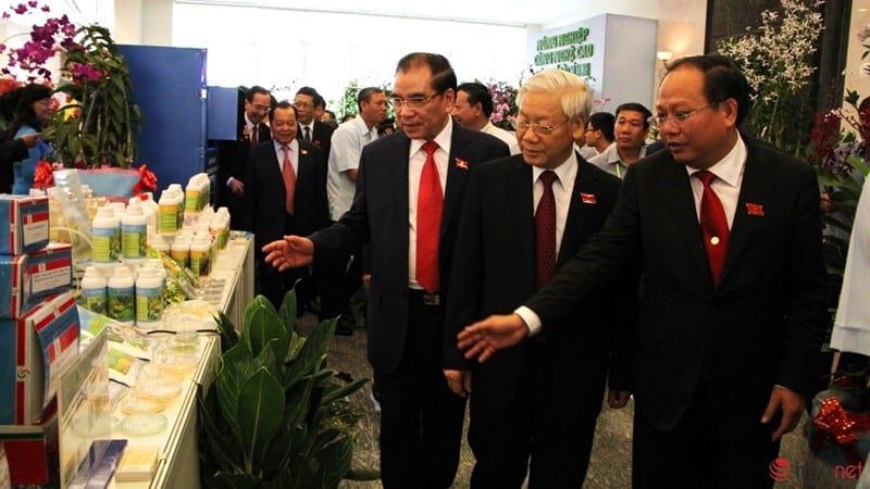 Tổng Bí Thư tham quan triển lãm Công Nghệ Cao tại TP Hồ Chí Minh 6