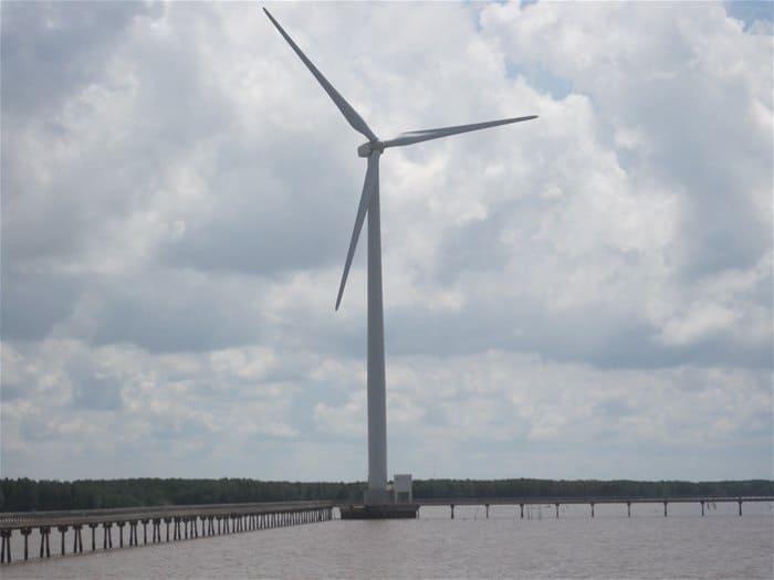 Bến Tre thu hút 7 dự án điện gió 5