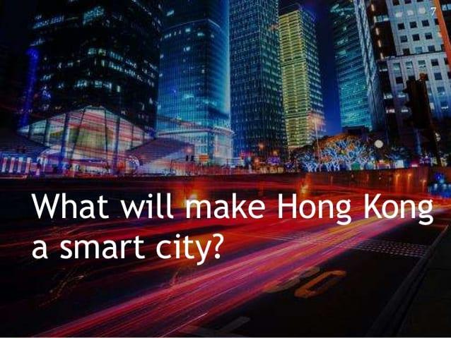 Hong Kong dự định thử nghiệm dự án thành phố thông minh 4