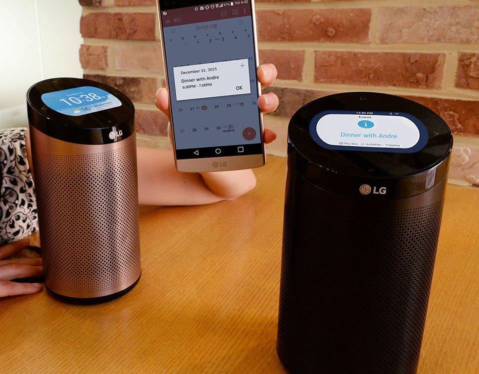 LG giới thiệu hub trung tâm cho nhà thông minh, tích hợp loa Bluetooth 24