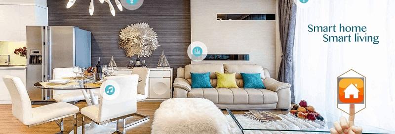 Nhà thông minh chung cư uy tín hcaats lượng cao