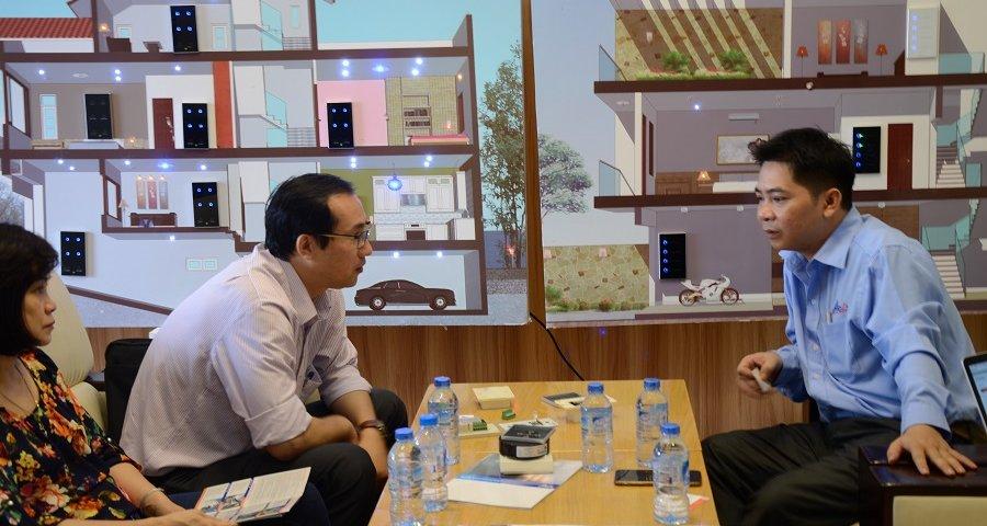 Buổi gặp gỡ giữa công ty công nghệ ACIS với Bộ Khoa học công nghệ 2