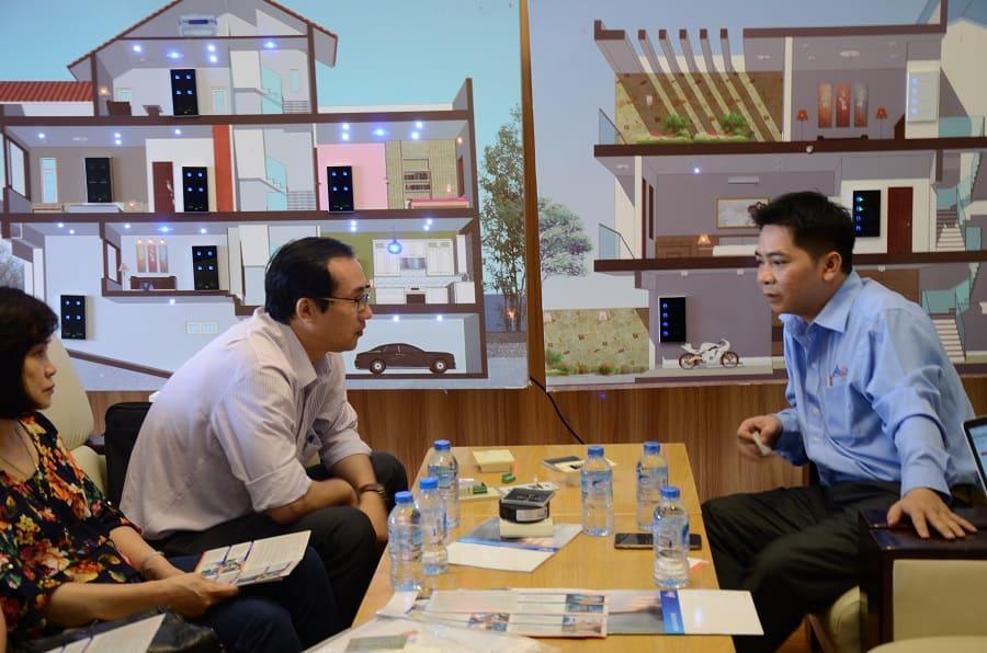 Buổi gặp gỡ giữa công ty công nghệ ACIS với Bộ Khoa học công nghệ 21