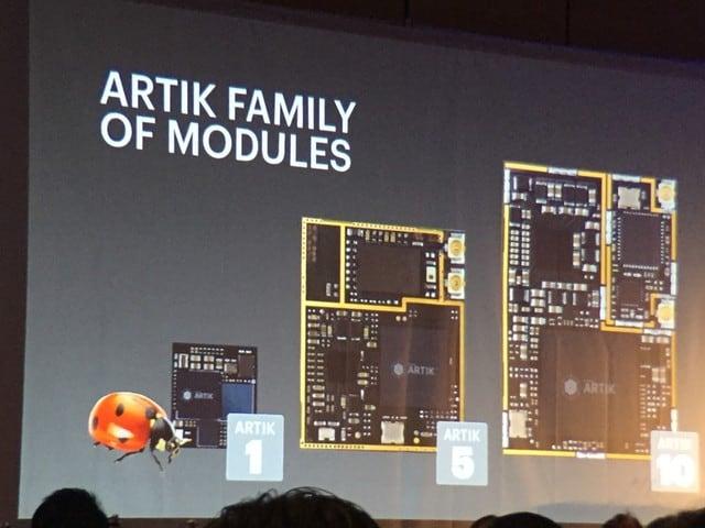 Samsung tiến đánh Internet of Things với Artik 2