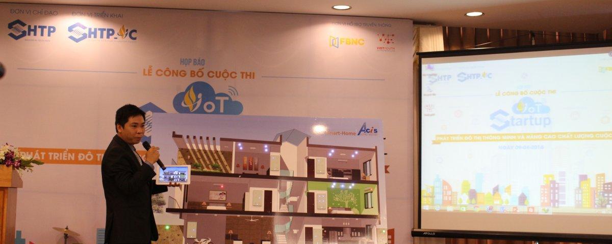 SHTP-IC phát động cuộc thi khởi nghiệp với IoT 4