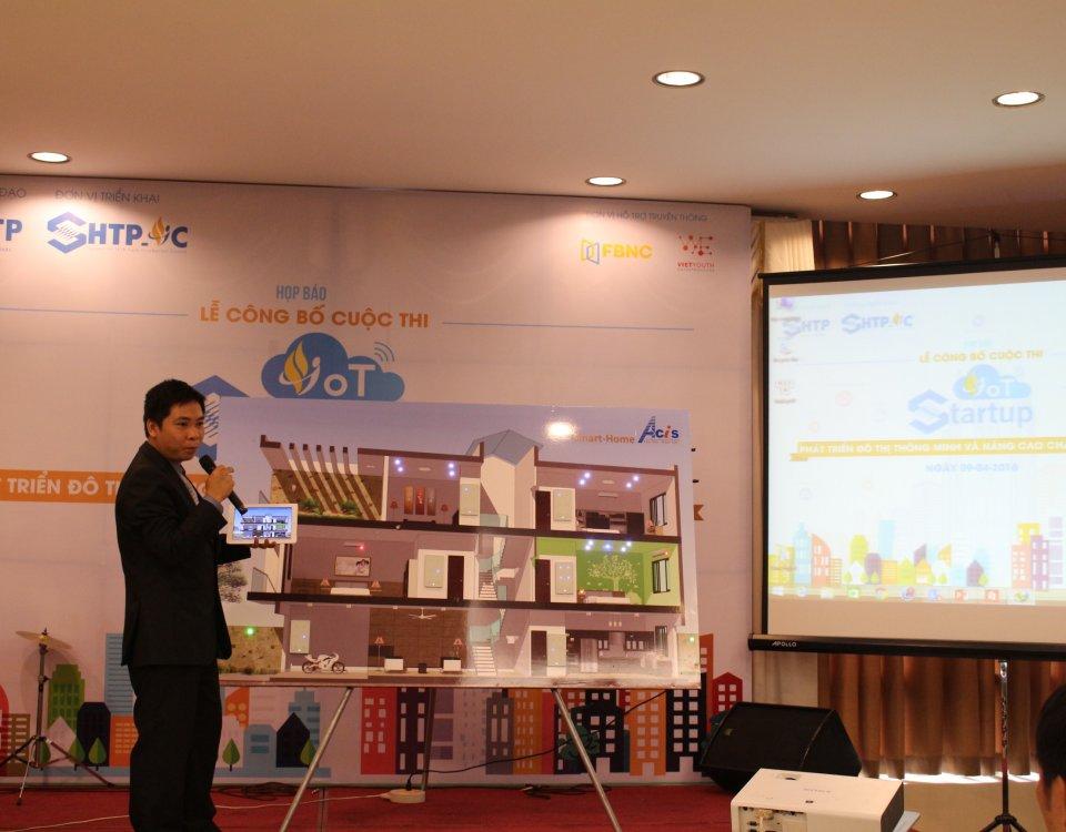 SHTP-IC phát động cuộc thi khởi nghiệp với IoT 2