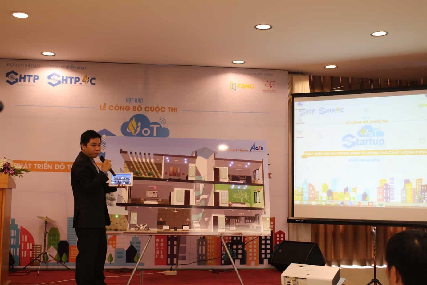 SHTP-IC phát động cuộc thi khởi nghiệp với IoT 5