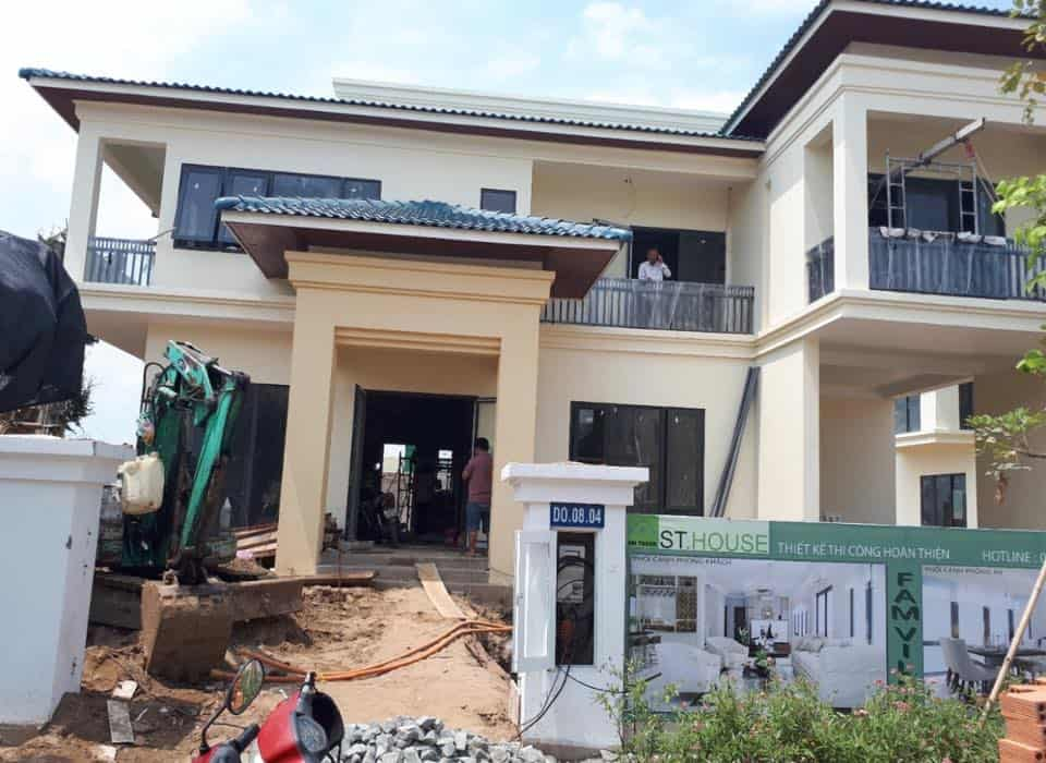 Project ACIS Smarthome at the villa Mr. Hoang Vinh - HCM City 9
