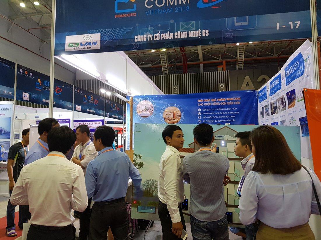 ACIS khởi động triển lãm quốc tế Vietnam ICT COMM 2018 28