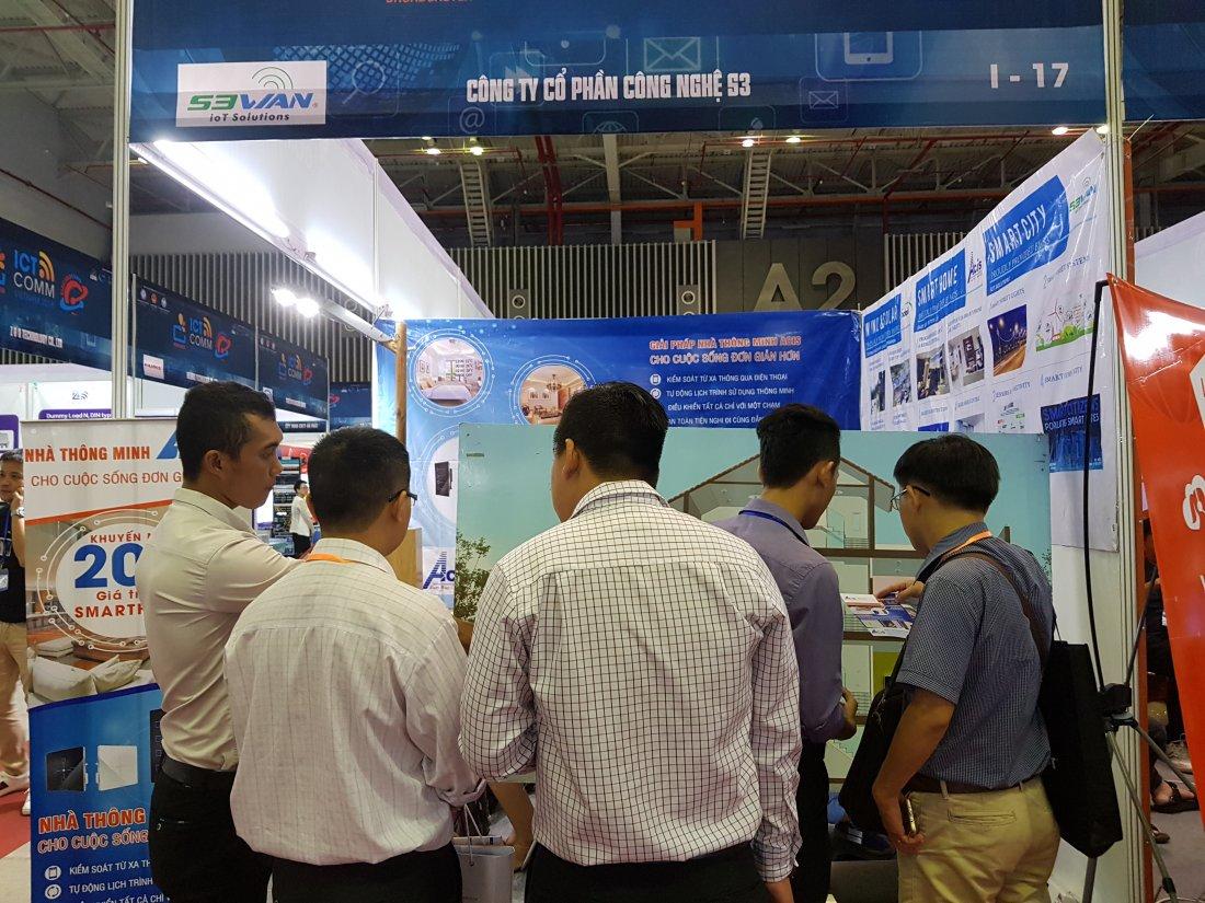 ACIS khởi động triển lãm quốc tế Vietnam ICT COMM 2018 21