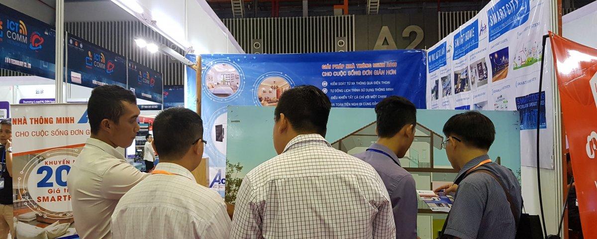 ACIS khởi động triển lãm quốc tế Vietnam ICT COMM 2018 20