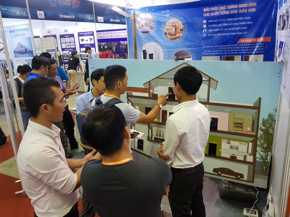 ACIS khởi động triển lãm quốc tế Vietnam ICT COMM 2018 26