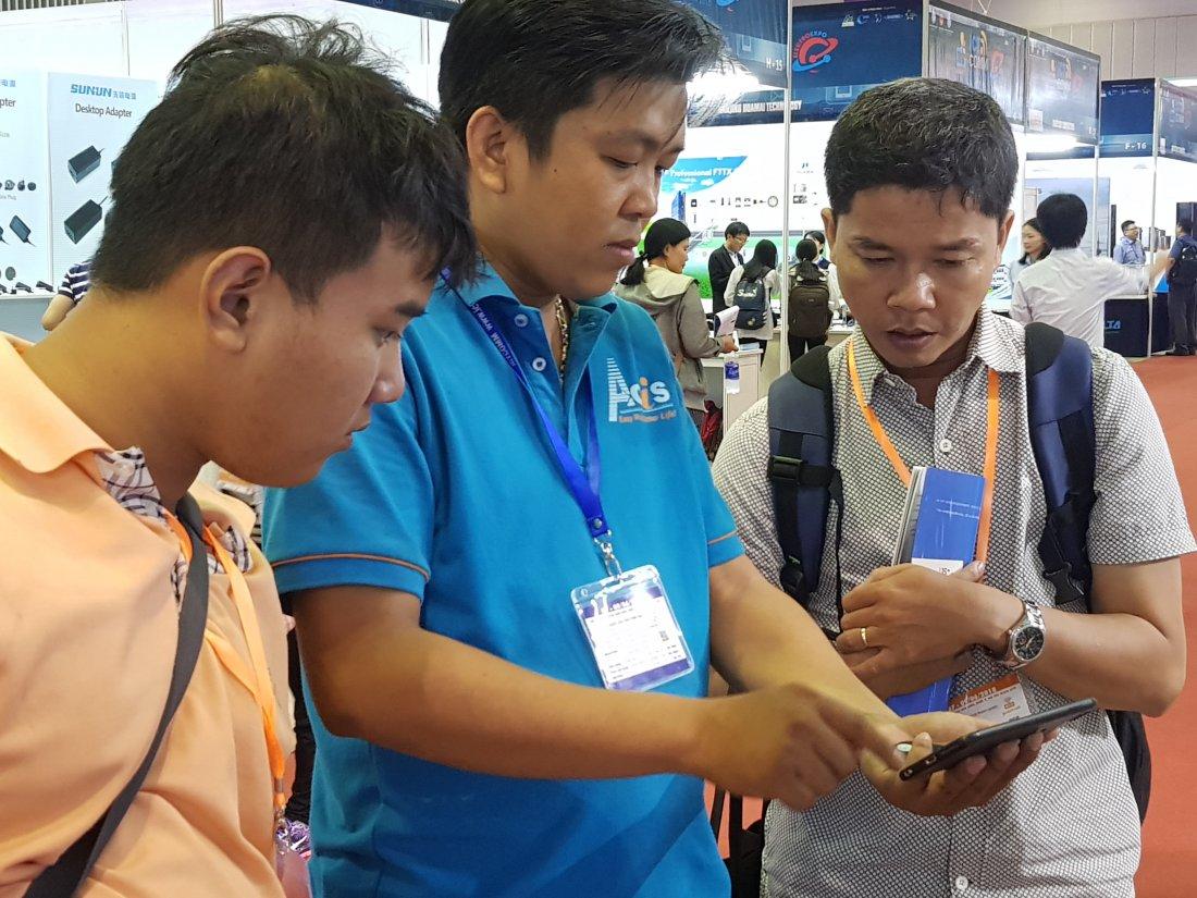 ACIS khởi động triển lãm quốc tế Vietnam ICT COMM 2018 25