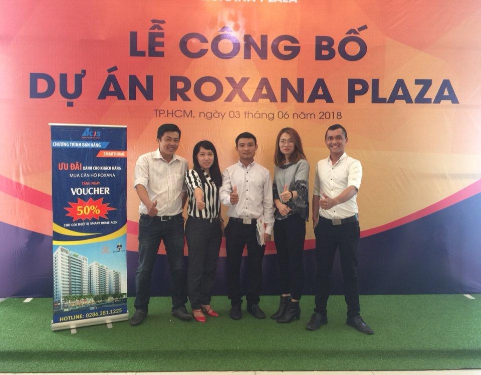ACIS Smart Home đồng hành cùng lễ công bố dự án Roxana Plaza 12