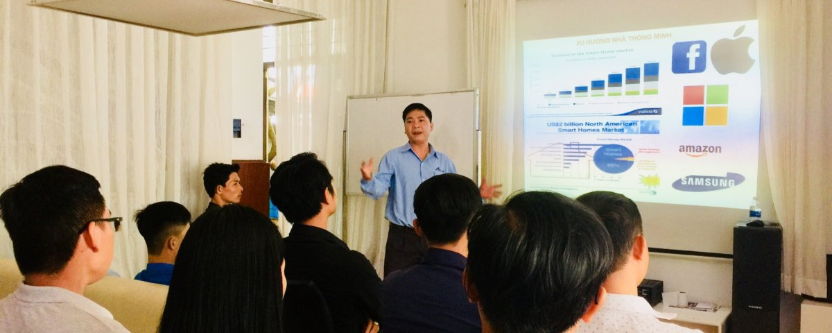 """Chương trình Đào tạo kỹ thuật thi công """"Giải pháp nhà thông minh ACIS"""" 4"""