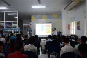 Acis tổ chức workshop chia sẻ kiến thức công nghệ và đón đoàn tham quan nhà mẫu Thủ Đức 5