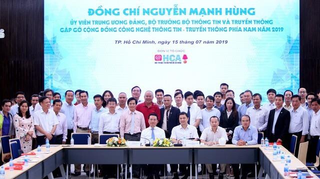 """Bộ trưởng Nguyễn Mạnh Hùng: Sứ mạng Việt Nam hùng cường đặt lên vai các doanh nghiệp IT, DN phải làm sản phẩm """"Make In Vietnam"""", để phát triển Việt Nam và đi ra toàn cầu 10"""