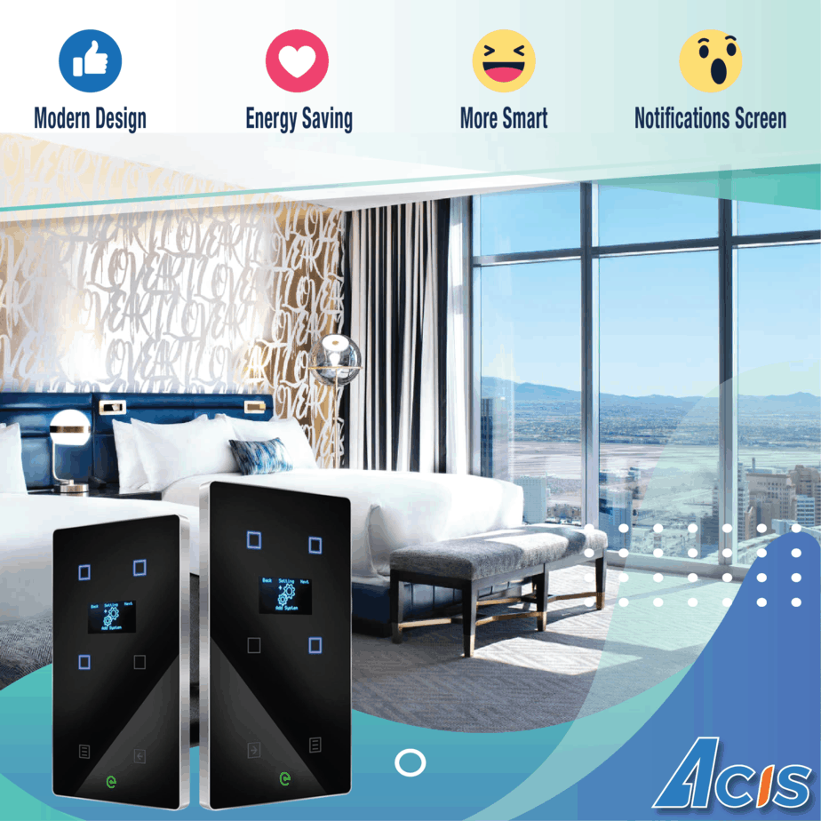 Acis smart switch is different both design and technology! 9