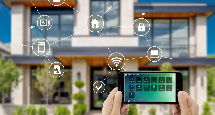 What Smart Devices Does Acis smart home Have?Controls To What? 8