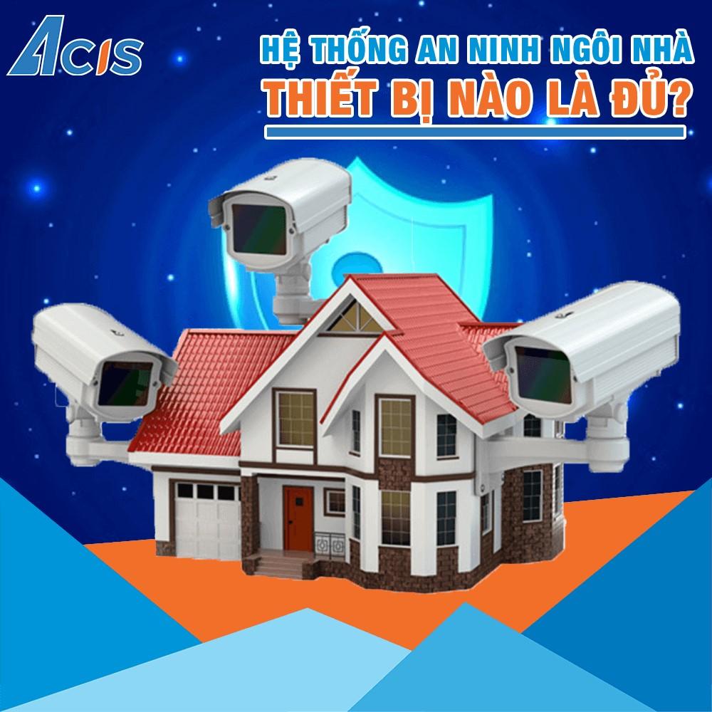 hệ thống chống trộm của nhà thông minh