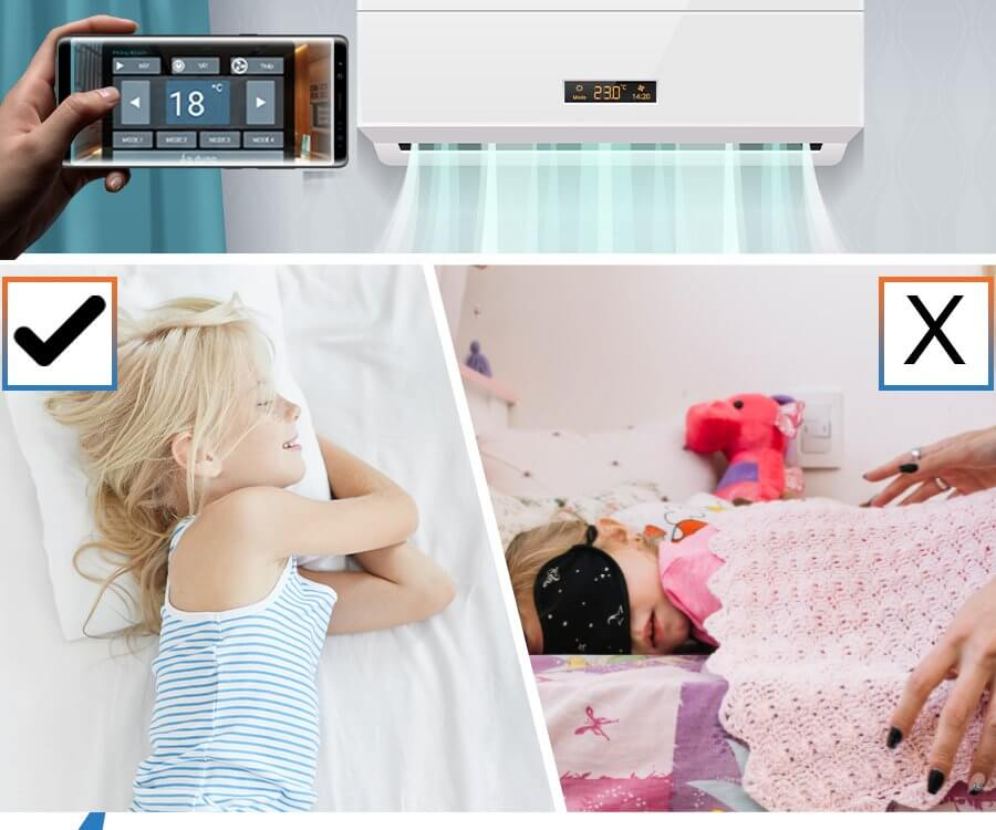 How to control the air conditioner using smartphone? 7