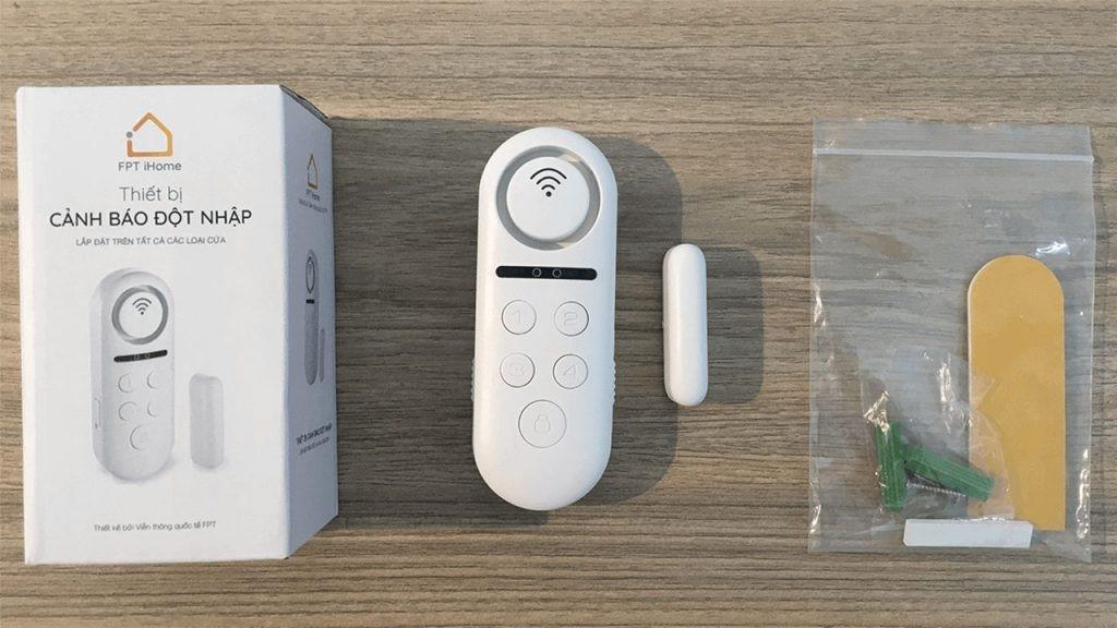 Hướng dẫn lắp đặt thiết bị iHome Alarm FPT