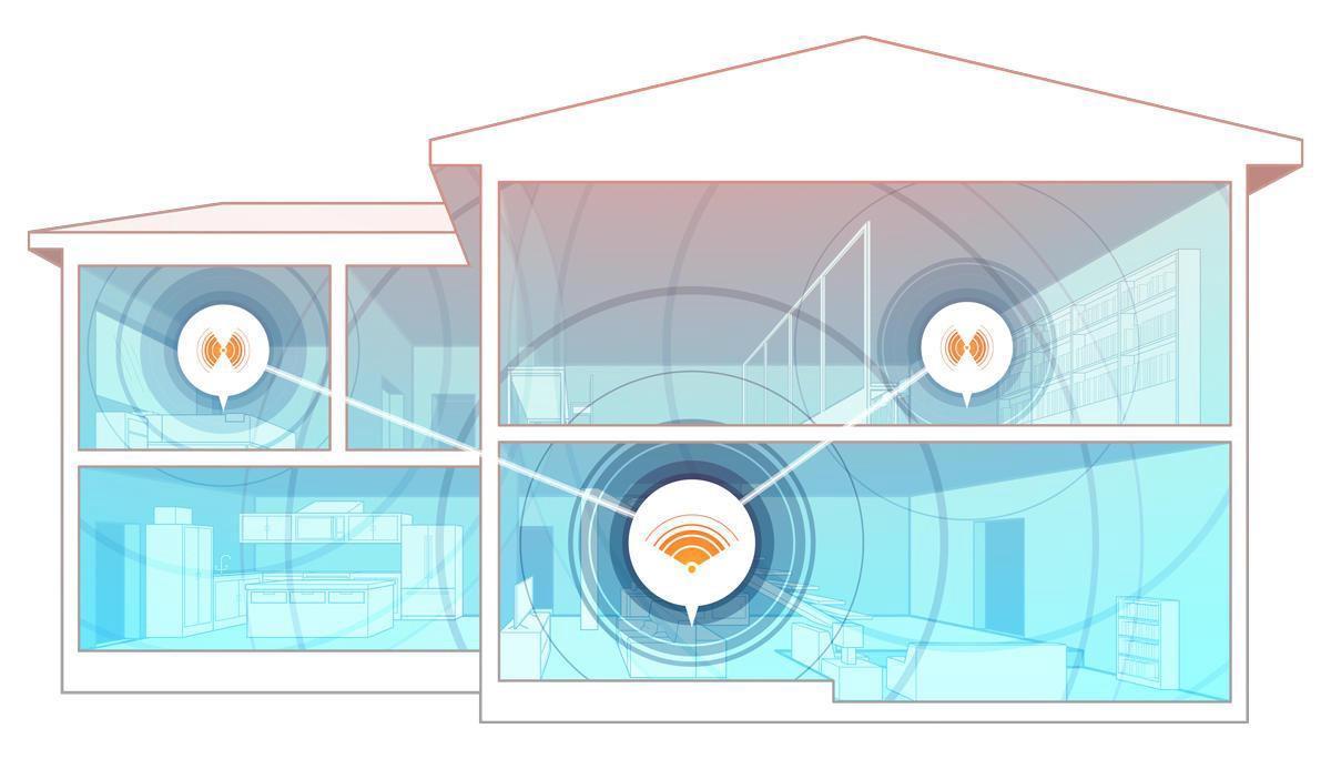 Lắp đặt hệ thống Wifi Mesh giúp căn hộ tiện nghi hơn khi sử dụng