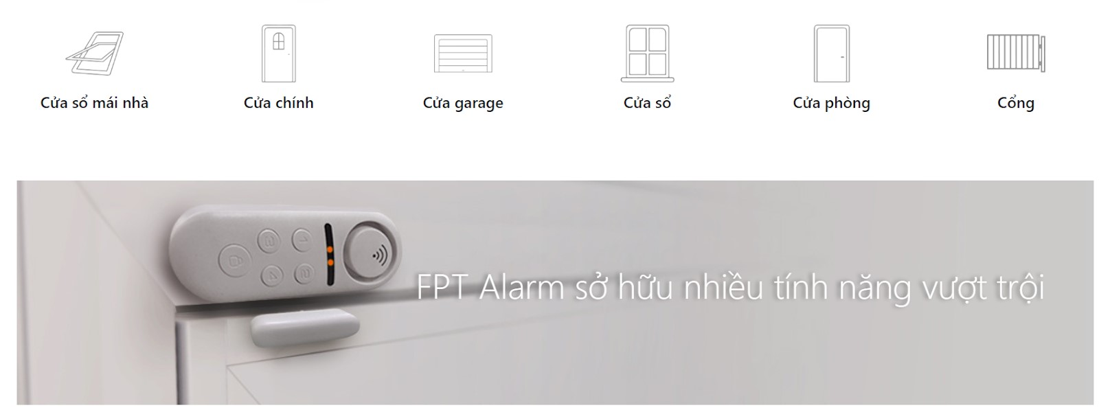 ưu điểm của iHome Alarm FPT