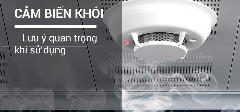 cơ chế hoạt động của cảm biến khói