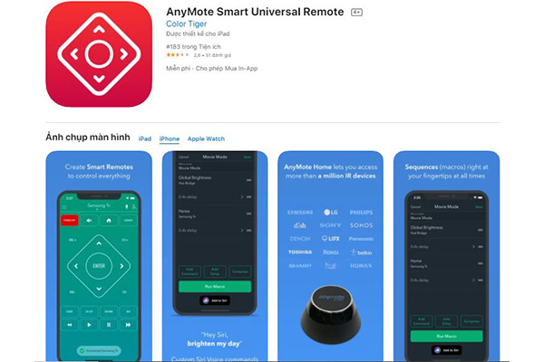 App Anymote