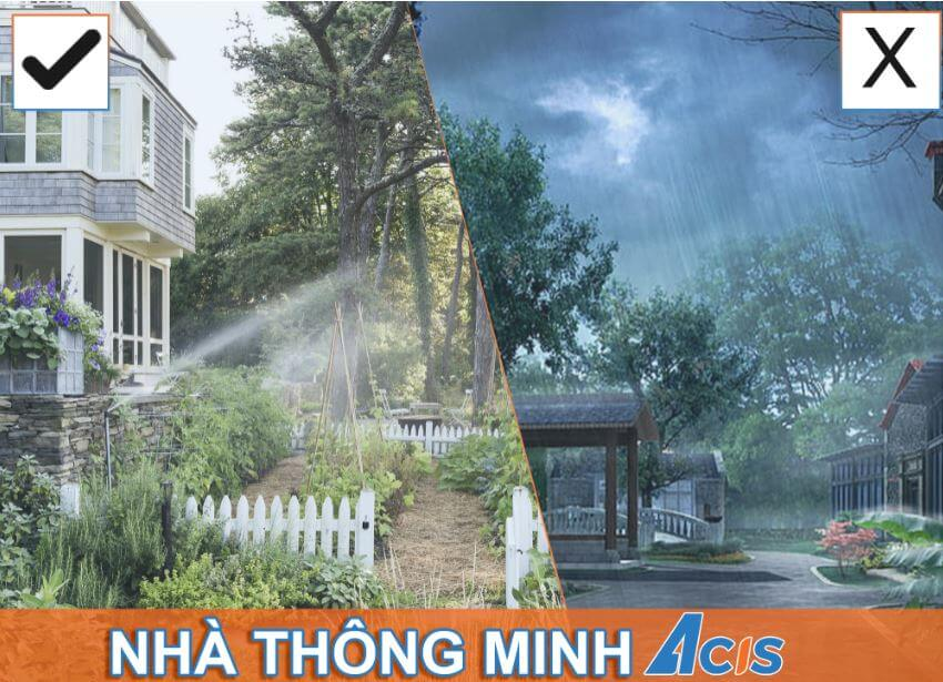 Nha thong minh & nha thong thuong