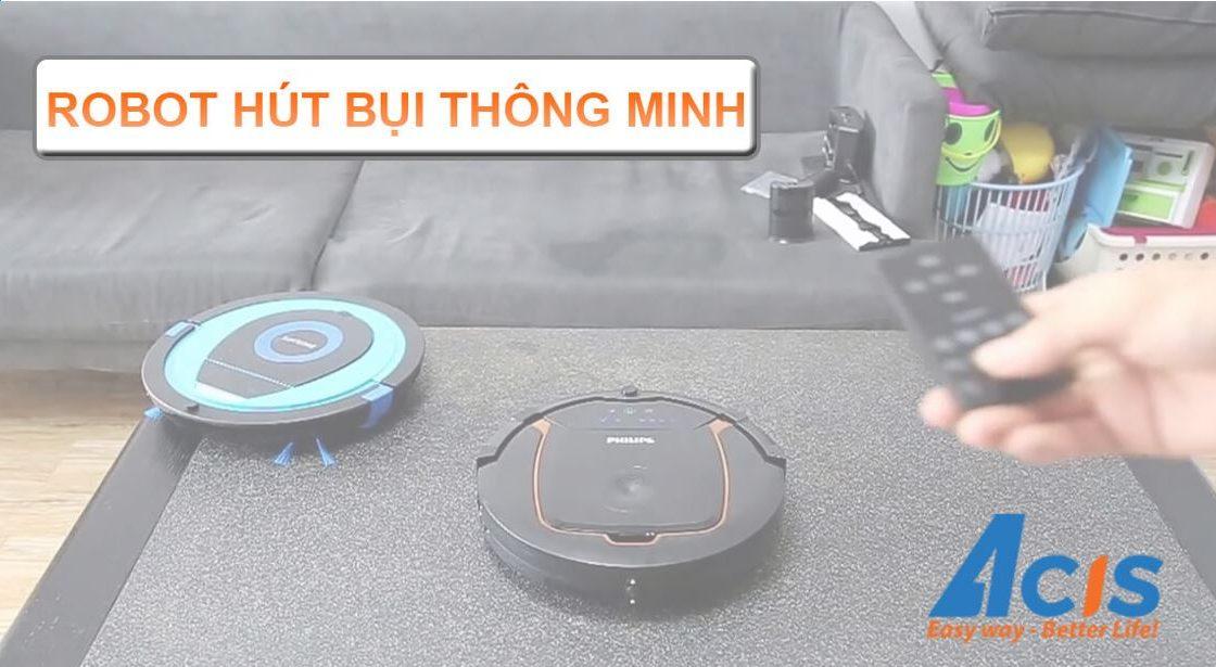 Robot hut bui thong minh cao cap