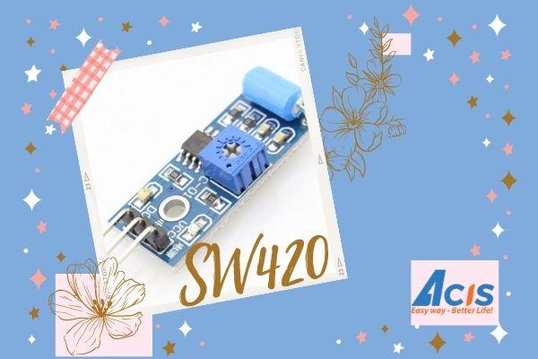 Module cam bien SW420